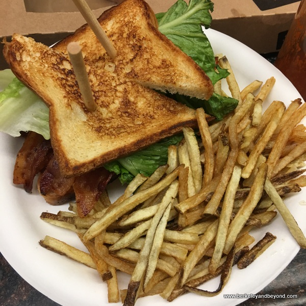really good BLT at Whitney Portal Store in Lone Pine, California