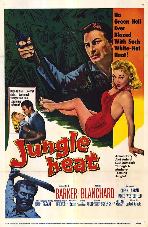 Jungle Heat (1957) ταινιες online seires oipeirates greek subs