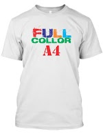 Kaos Sablon A4 (Full Collor)