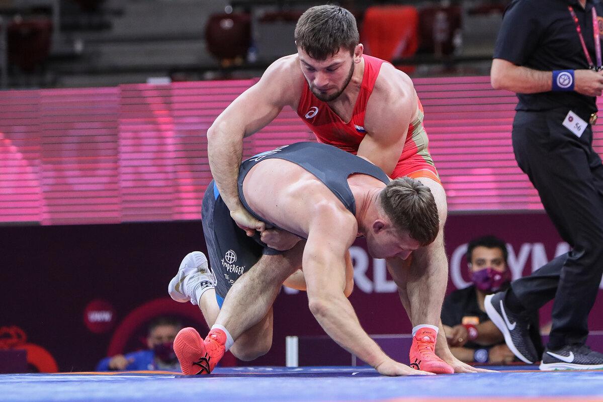 Davit Chakvetadze Michael Wagner wrestling superiority top olympic games