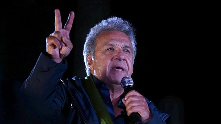 Ganó #Ecuador, ganó @Lenín Moreno, ganó @MashiRafael Correa ✊👏