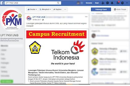 Rekrutmen Telkom: A Road To Great People Trainee Program Batch VI PT Telkom Indonesia (Persero) Tbk Part 2