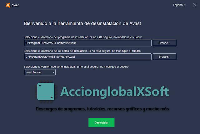 Avast Clear 20.3.5200.0 - Desinstalar Avast sin dejar restos