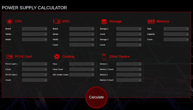 power supply calculator