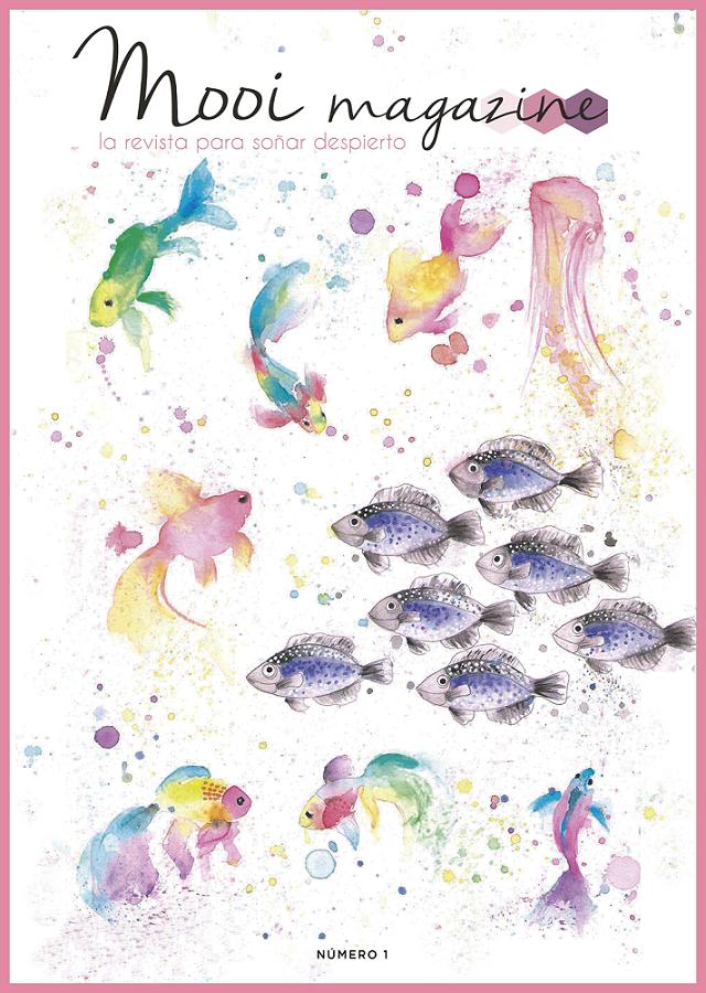 Portada de la primera edición de la revista online de mooi magazine