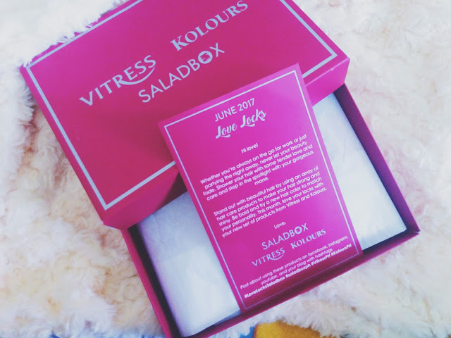 UNBOXING SALADBOX JUNE 2017: LOVE LOCK VITRESS PH & KOLOURS