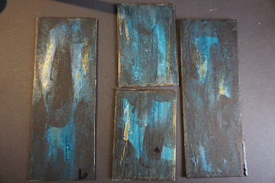 Antiquing Picture Frame With Crackle Paint