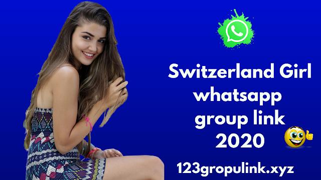 Join 800+ switzerland girl whatsapp group link