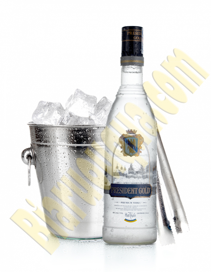 Rượu Vodka President Gold