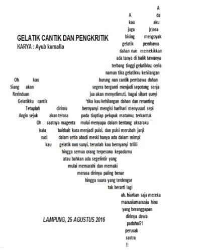 Tipografi Dalam Puisi : tipografi, dalam, puisi, Puisi, Tipografi?, Zacky