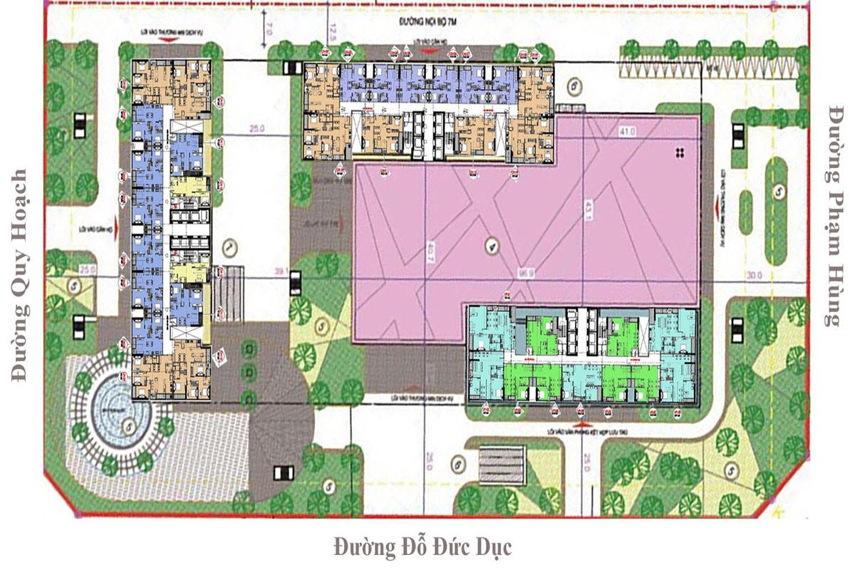 Phối cảnh dự án Vinhomes West Point