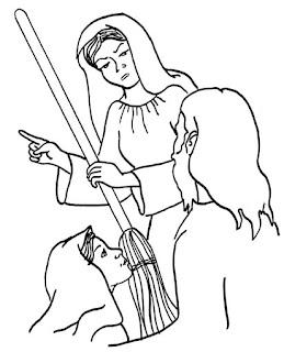 Resultado de imagem para jesus visita marta e maria atividades