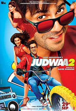 Judwaa 2 2017 Bollywood 125MB HEVC Mobile 480p at movies500.xyz