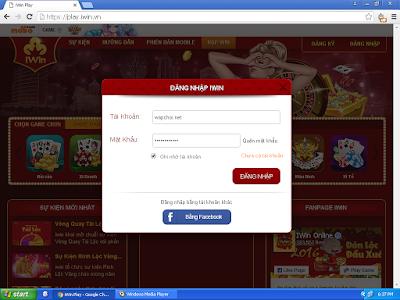 Trang Web choi iWin Online