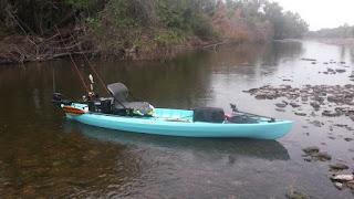 The salty river rat pursuit review nucanoe hunting for Kayak fishing tournaments near me
