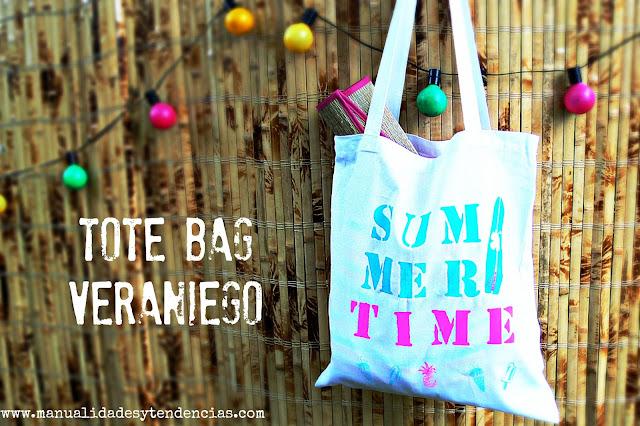 Personaliza tu bolso de tela con pintura textil