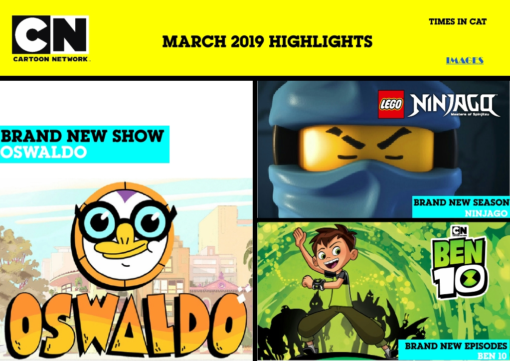 Entertainment Inside Us In March 2019 Cartoon Network Africa