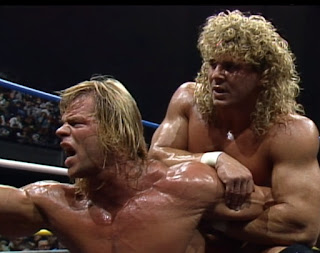 WCW Halloween Havoc 1989 -  Lex Luger and Brian Pillman stole the show