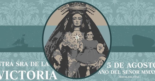 Cartel Festividad María Santísima de la Victoria de Matalascañas 2021