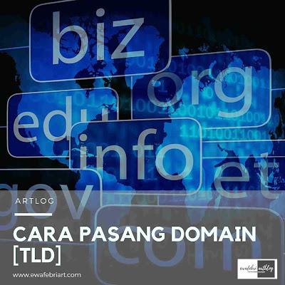 cara pasang domain di blogger untuk pemula