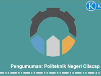 Pengumuman Seleksi Politeknik Negeri Cilacap TA 2020/2021