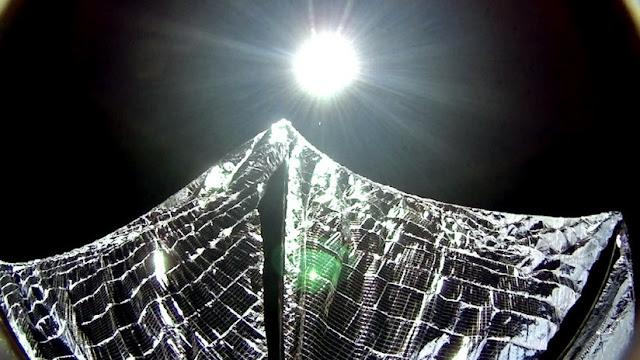 """Científicos, a punto de anunciar """"un hito importante"""" sobre su impresionante vela solar"""