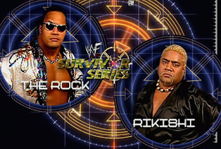 WWE / WWF Survivor Series 2000 - The Rock defeated Rikishi