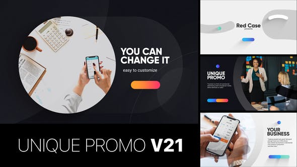 Unique Promo v21 | Corporate Presentation[Videohive][After Effects][22621643]