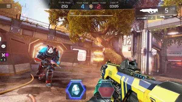 Download Shadowgun Legends Mod Apk Enemy In PVP Will Not Attack