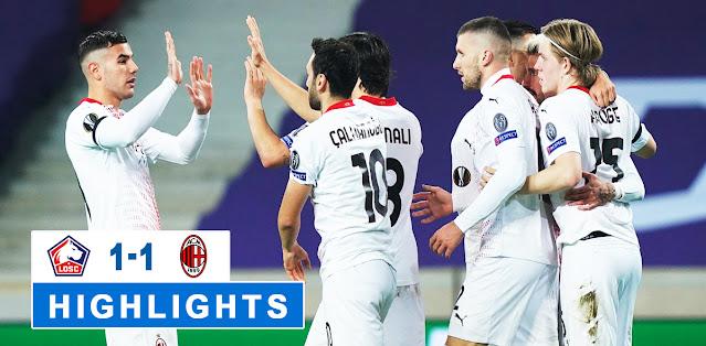 Lille vs Milan – Highlights