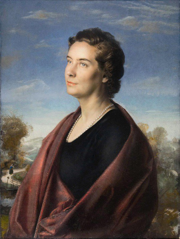 Pietro Annigoni 1910-1988 | Italian Portrait and Fresco painter