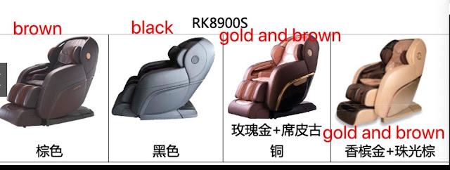 Ghế Massage Cao Cấp RK-8900S Mishio