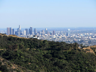 View southwest toward Griffith Observatory and Downtown L.A.