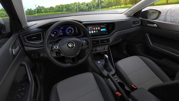 VW Polo e Virtus 2022 - interior
