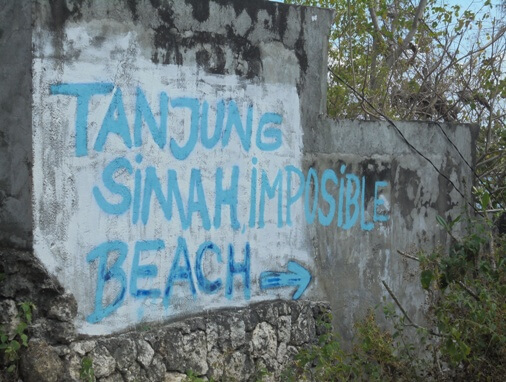 Impossible Beach Pecatu, Impossible Beach Uluwatu Bali
