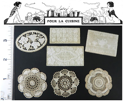 New 1:12 Scale Laser Lace Designs