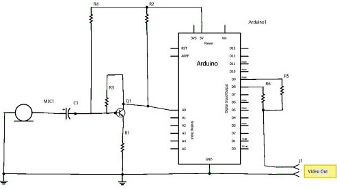 audio spectrum analyzer circuit diagram 1jz ecu wiring digital ivision labs build an arduino connection