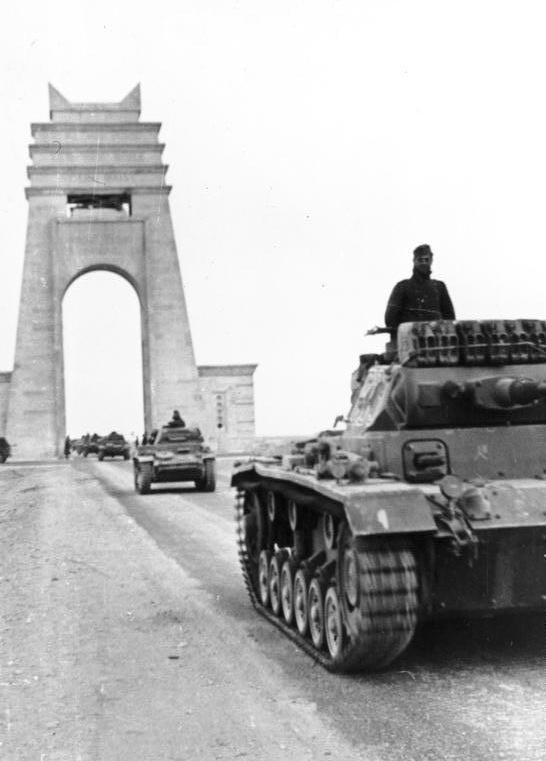 21 March 1941 worldwartwo.filminspector.com Afrika Korps Panzer Mk II III