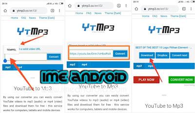 Download mp3 youtube tanpa aplikasi