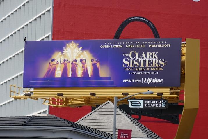 Clark Sisters First Ladies of Gospel billboard