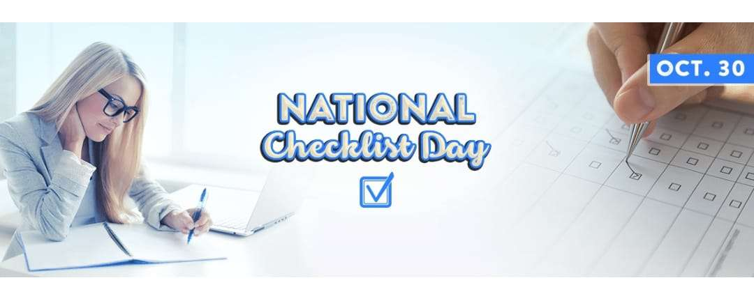 National Checklist Day Wishes Images