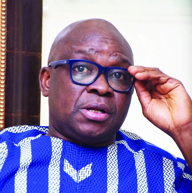 Why God is angry with APC – Fayose