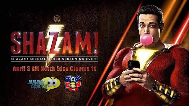 Shazam! Special Philippine Block Screening
