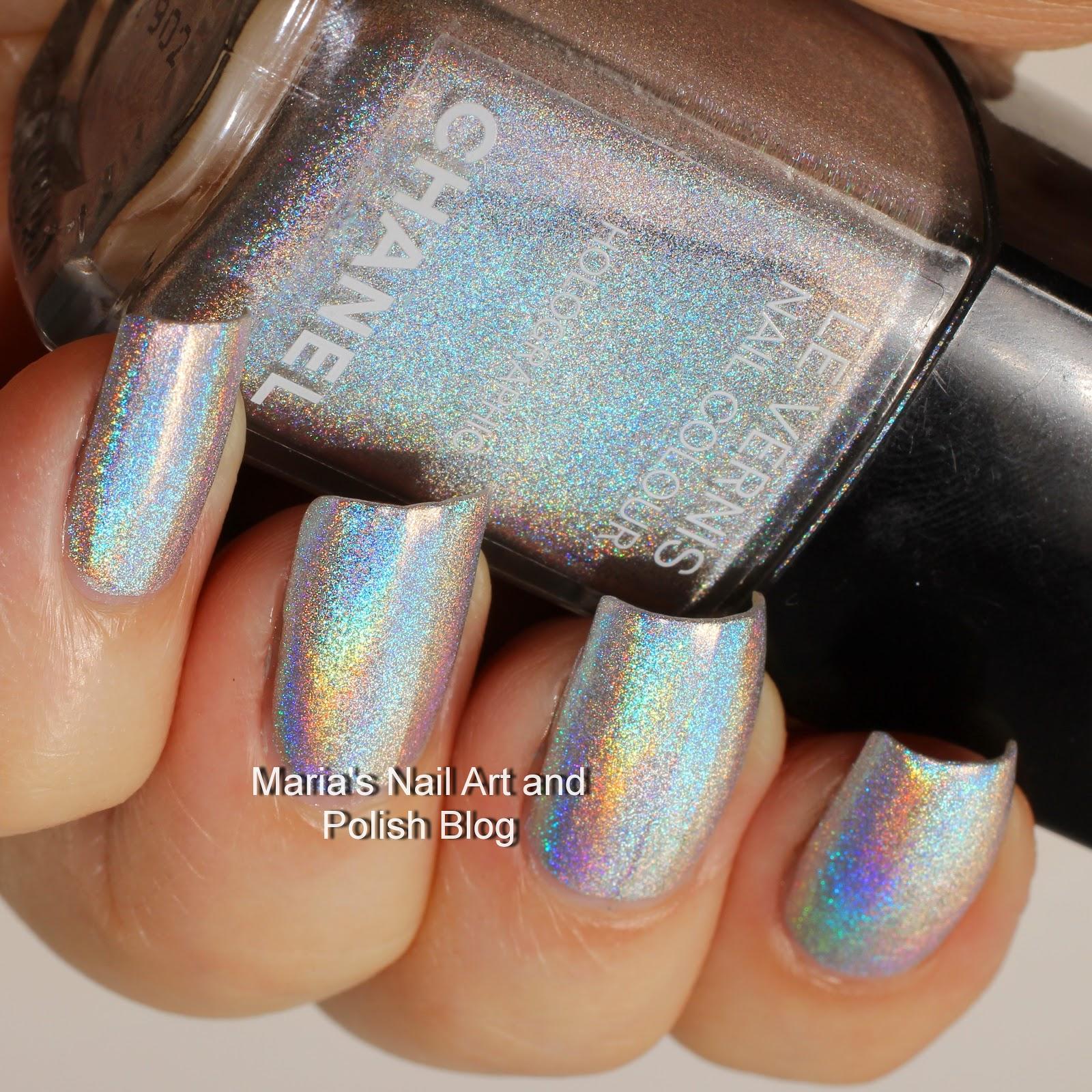 Chanel Holographic Nail Polish: Marias Nail Art And Polish Blog: Chanel Holographic