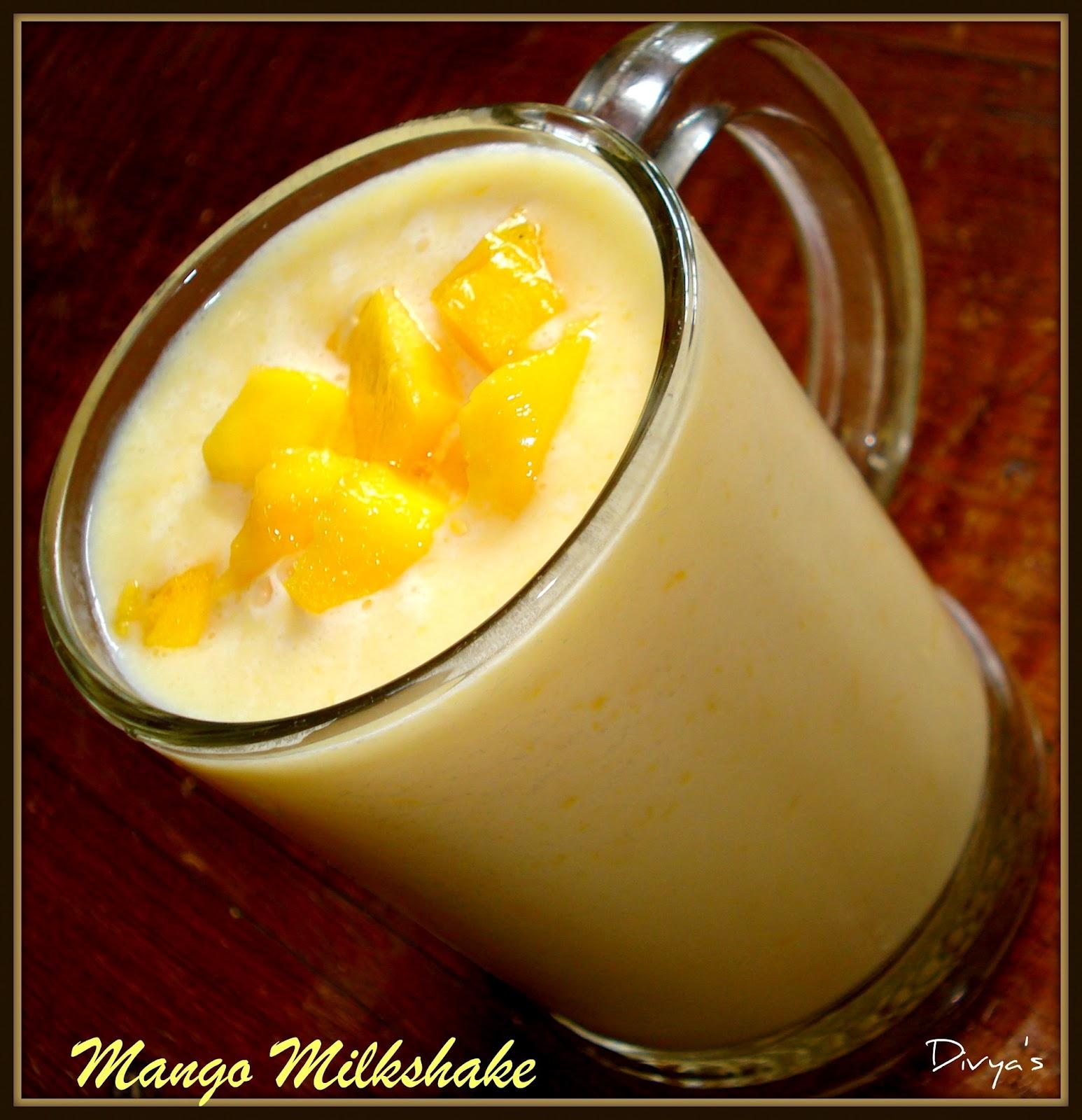 Mango Milkshake - You Too Can Cook