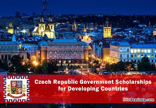 beasiswa pemerintah republik ceko czech republic government scholarships for developing countries