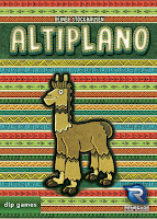 Altiplano Board Game by Renegade Game Studios Box Art Alpaca