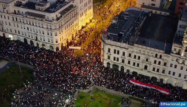 Segunda Marcha Nacional contra Merino