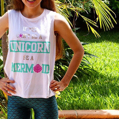If you can't be a unicorn, be a mermaid
