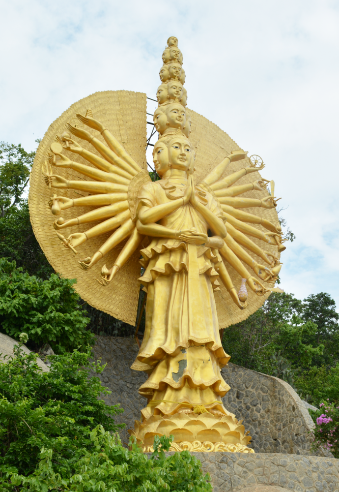 Khao Takiab District, Chopsticks Hill, Thailand, Hua Hin, Chinese Temple, Monkeys, Khao Takiab, Monkey Mountain, Guanyin, Chinese Goddess of Mercy, หัวหิน, วัดเขาตะเกียบ, วัด, เขาตะเกียบ